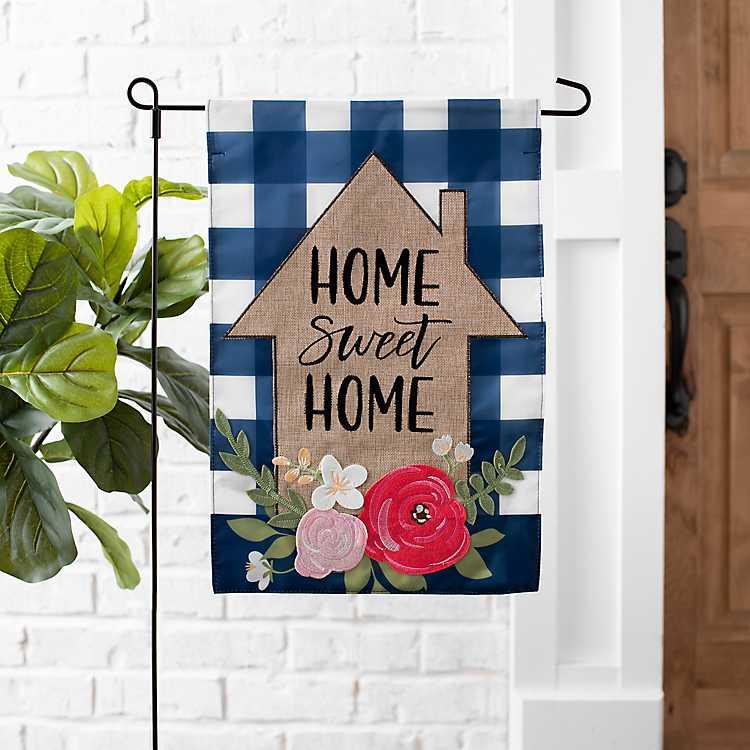 Home Sweet Home House Flag Set Kirklands