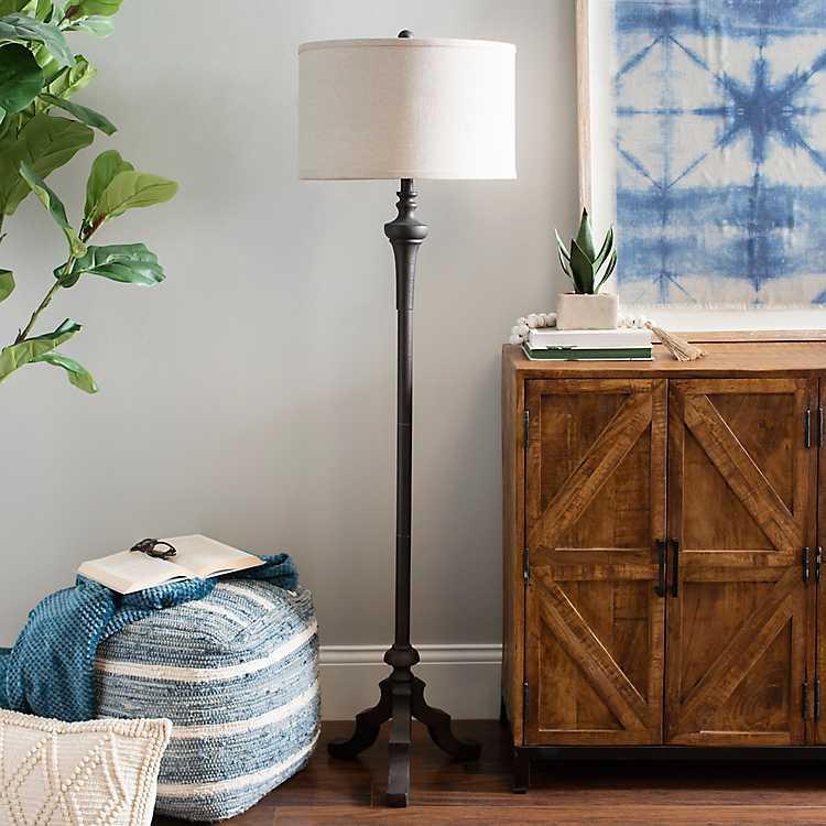 Bronze Ironwork Style Floor Lamp