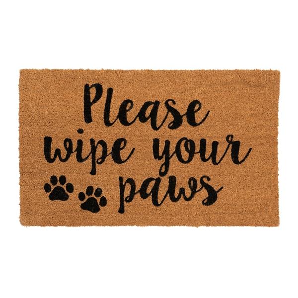 Please Wipe Your Paws Doormat Kirklands