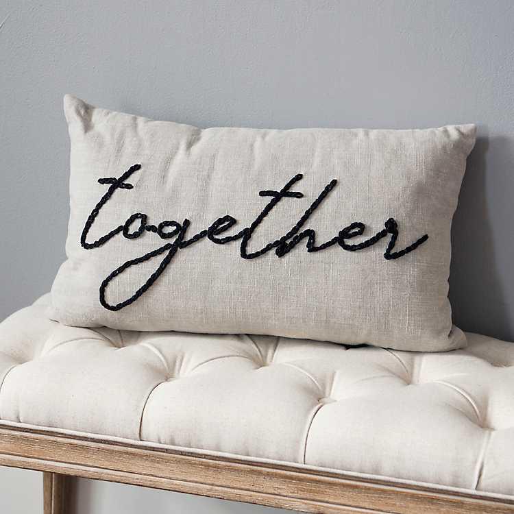 Together Lumbar Pillow Kirklands