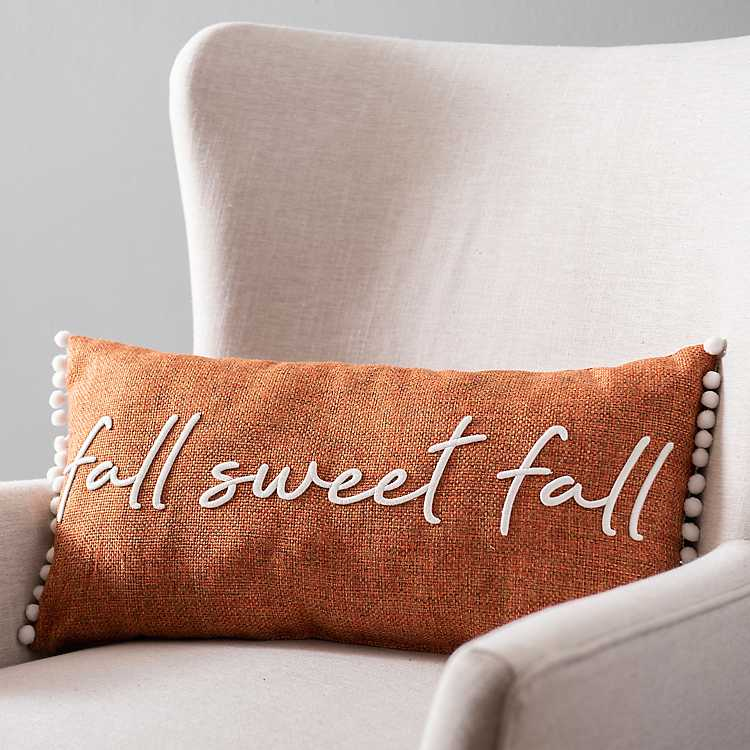 Fall Sweet Pillow Kirklands