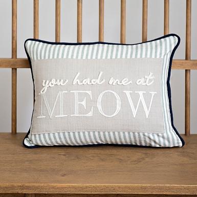 You Had Me At Meow Accent Pillow Kirklands