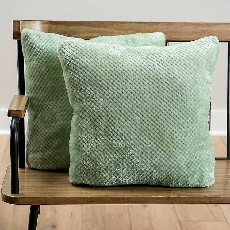 Mint Green Heavenly Pillows Set Of 2 Kirklands