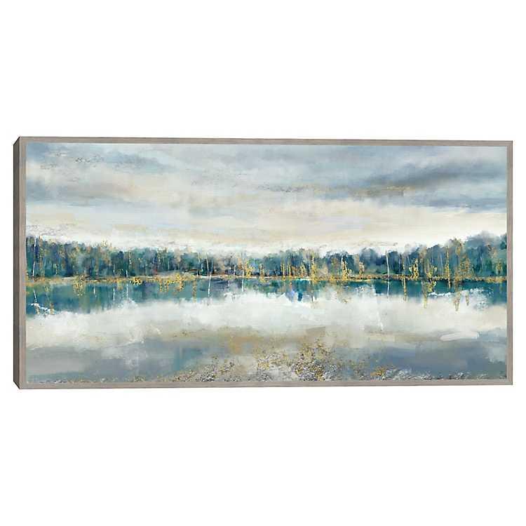 Lakeside Luxe Framed Canvas Art Print Kirklands