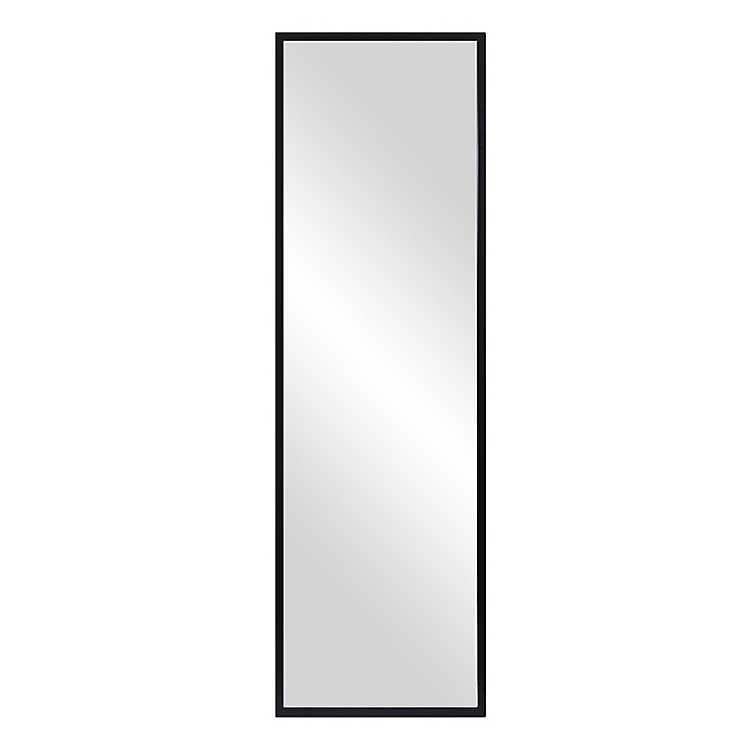 Black Floor Mirror With Adjustable, White Floor Mirror With Easel