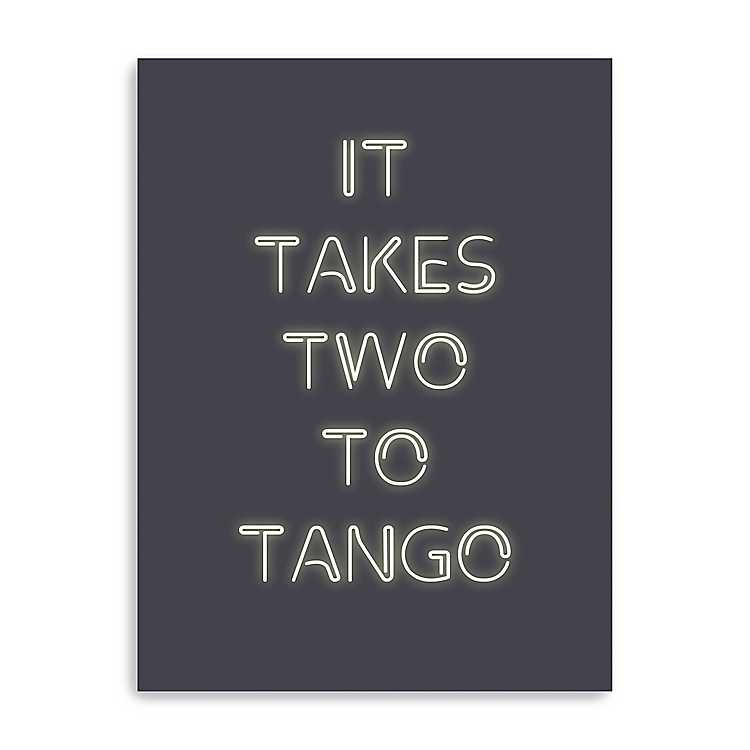 It Takes Two To Tango Canvas Art Print Kirklands