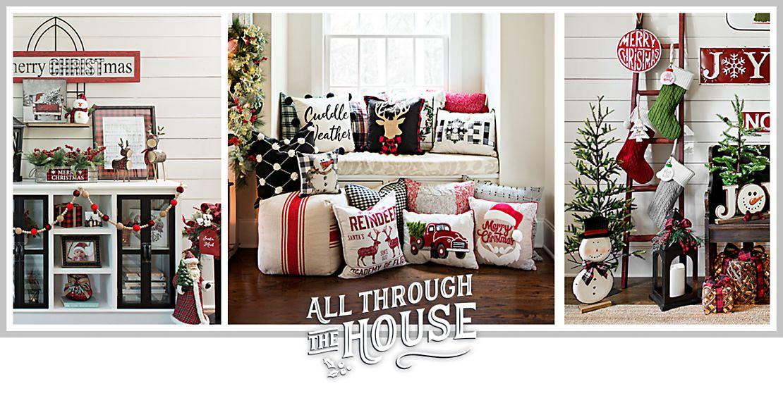 Farmhouse Christmas Decorations Kirklands
